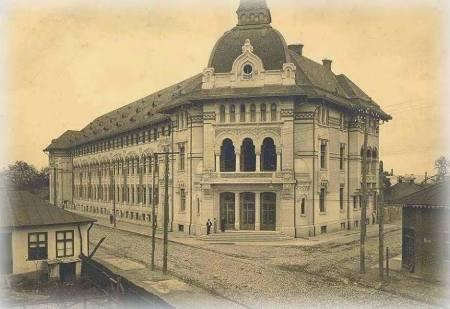 Palatul Şcoalelor Comerciale, T.Socolescu, 1930